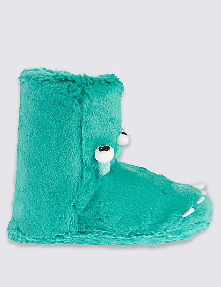 Kids' Alien Slipper Boots