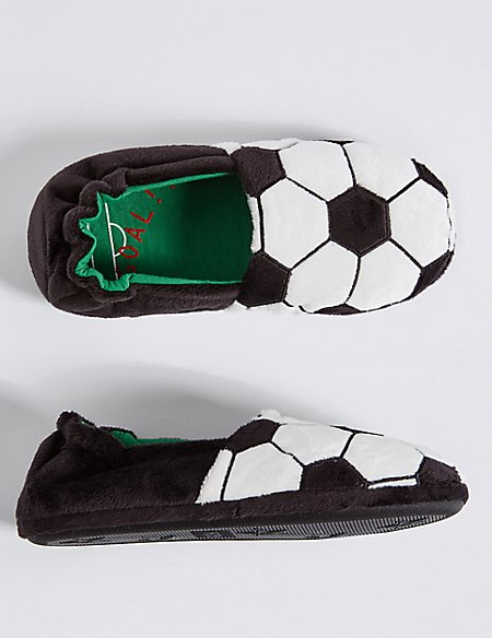 Kids' Football Slippers (13 Small - 7 Large)