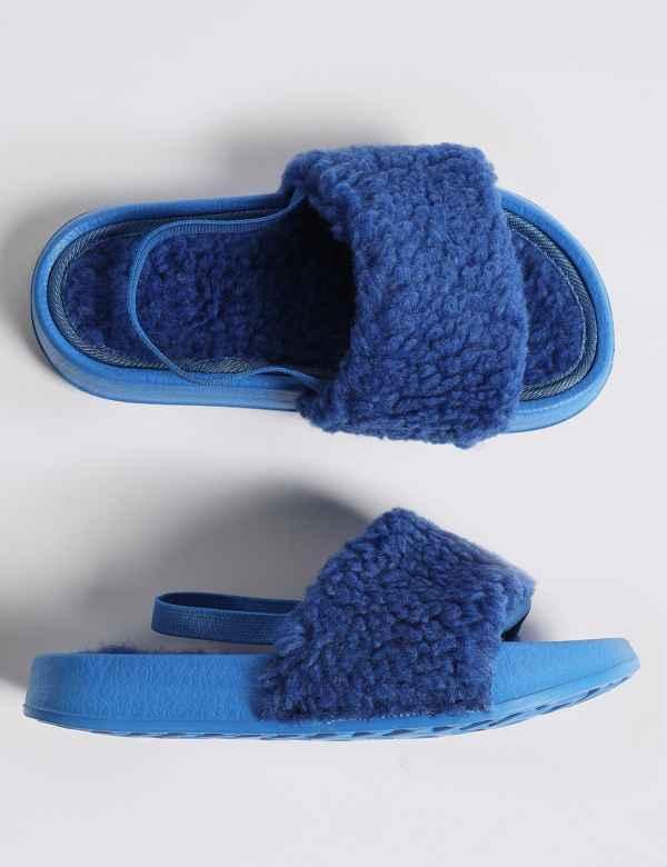 5e3c2a78f0240b Kids  Slide Slippers (5 Small - 12 Small)