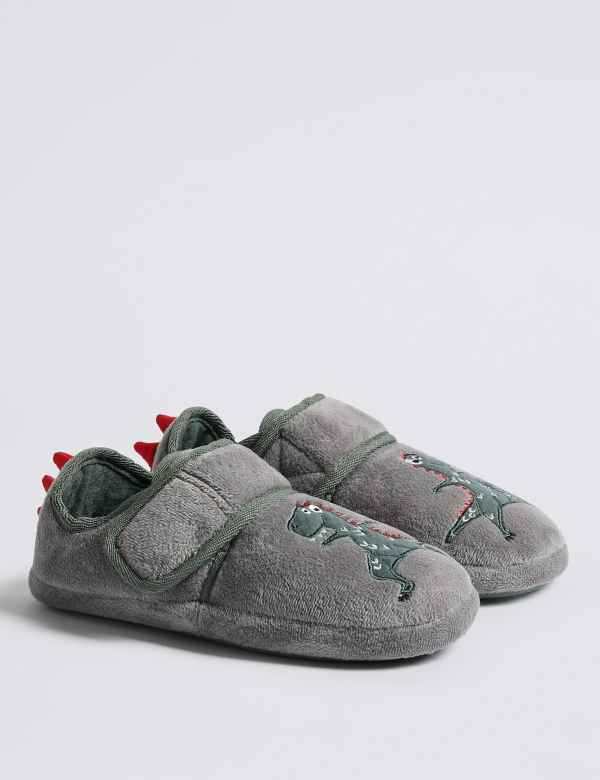 Toddler Infant Boys Dinosaur Slippers Size 6 Selling Well All Over The World Clothing, Shoes & Accessories Boys' Shoes