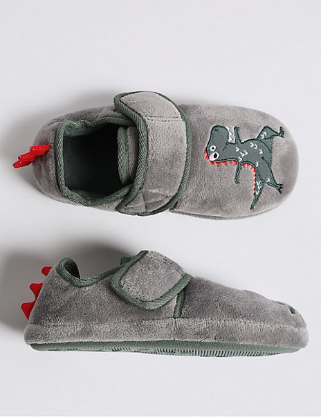 Kids' Dinosaurs Slippers (5 Small - 12 Small)