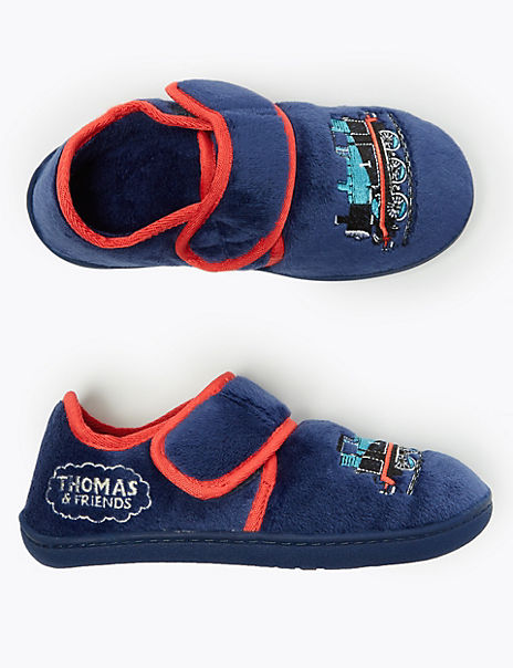 Kids' Thomas & Friends™ Riptape Slippers (5 Small - 12 Small)