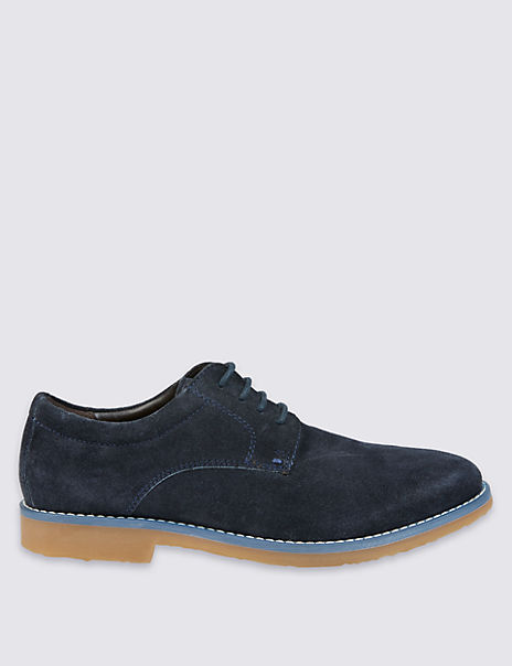 Kids' Leather Lace-up Shoes (13 Small - 7 Large)