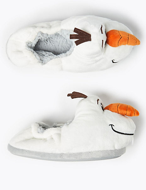 Kids' Disney Frozen 2 Olaf Slippers (5 Small - 12 Small)