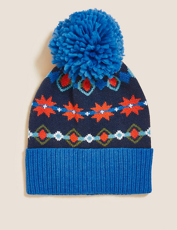 Kids' Patterned Winter Hat (12 Mths - 13 Yrs)