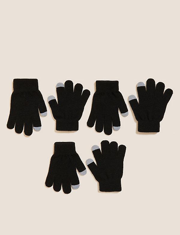 Kids' 3pk Magic Gloves