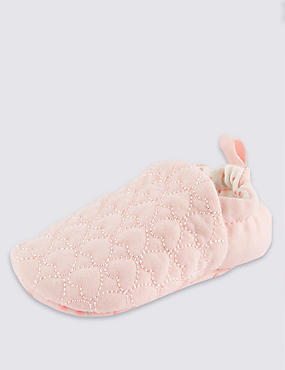 Baby Heart Pull-on Pram Shoes