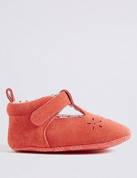 Baby Slip-on Cut Pram Shoes