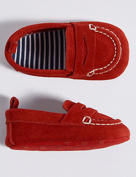 1e431437711 Product images. Skip Carousel. Baby Suede Loafer Pram Shoes