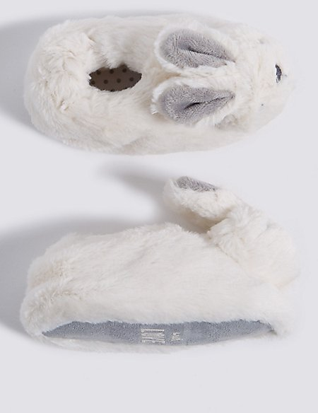 Baby Bunny Rattle Slip-on Shoes