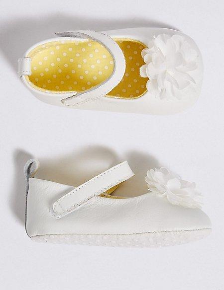 Baby Leather Pram Shoe