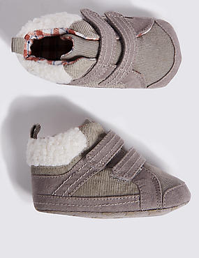 Baby High Top Pram Shoes