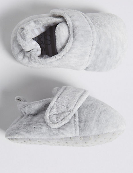 Baby Padded Riptape Shoes (0-18 Months)