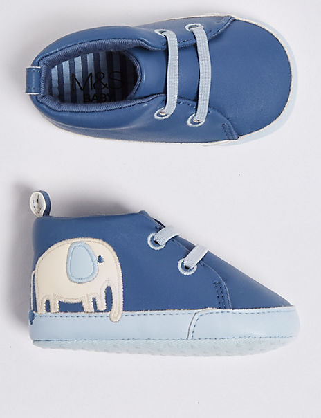 Baby Elephant Shoes (0-18 Months)