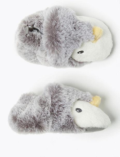 Baby Penguin Slip On Pram Shoes (0-18 Months)