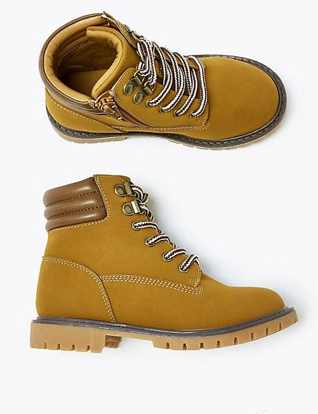 Kids' Freshfeet™ Zip Hiker Boots (5 Small - 12 Small)