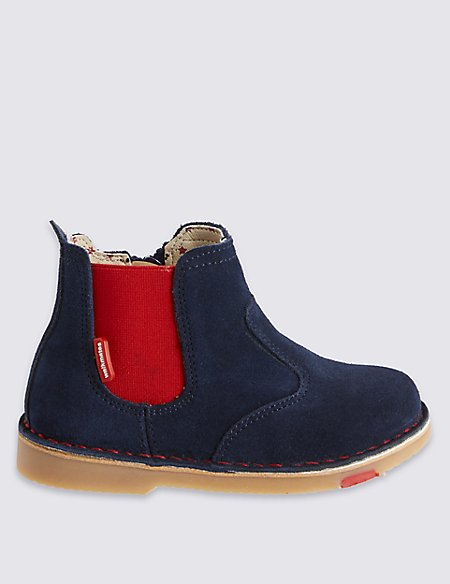 Kids' Leather Walkmates Chelsea Boots