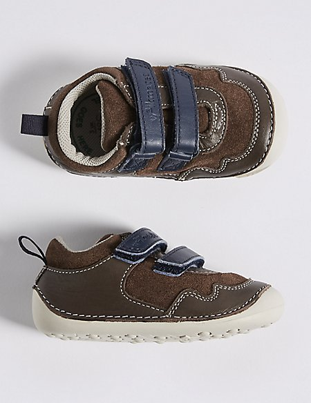Kids' Leather Pre Walker Shoes (2 Small - 5 Small)
