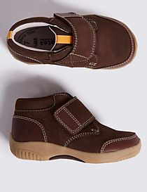 Kids' Walkmates™ Leather Velcro Shoes (4 Small - 11 Small)