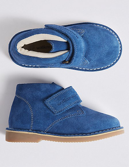 Kids' Walkmates™ Suede Boots (4 Small - 11 Small)