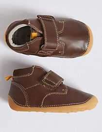 Kids' Walkmates™ Leather Ankle Boots (2 Small - 5 Small)