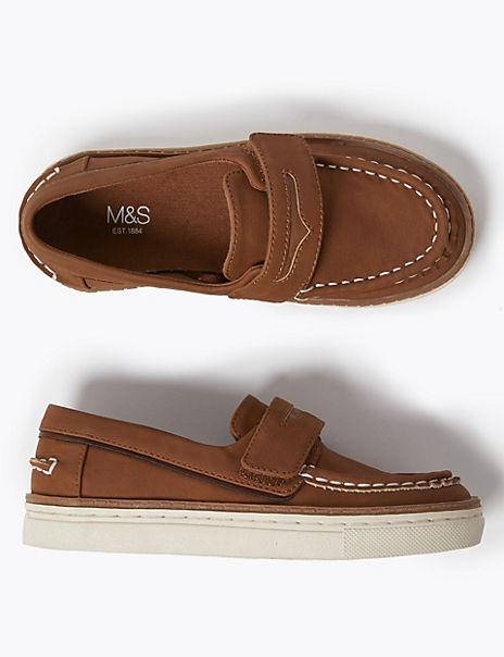 Kids' Freshfeet™ Riptape Loafers (5 Small - 12 Small)