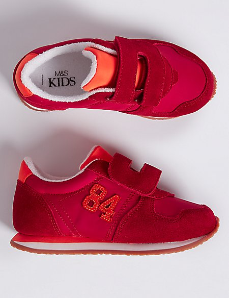 Kids' Riptape Fashion Trainers (6 Small - 12 Small)