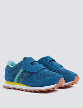 Kids' Suede Trainers (5 Small - 12 Small)
