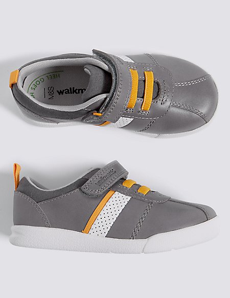Kids' Leather Walkmates™ Trainers (4 Small - 11 Small)
