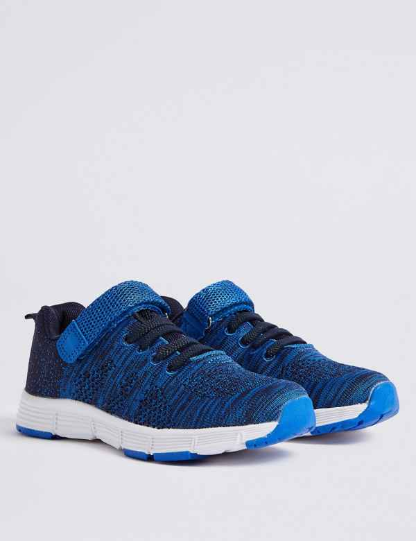 Athletic Shoes Mens Boys Lightweight Shoes Lace Up Mesh Knit Trainers Memory Foam Size 3-12