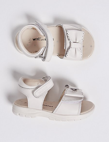 Kids' Leather Riptape Walkmates™ Sandals (4 Small - 11 Small)