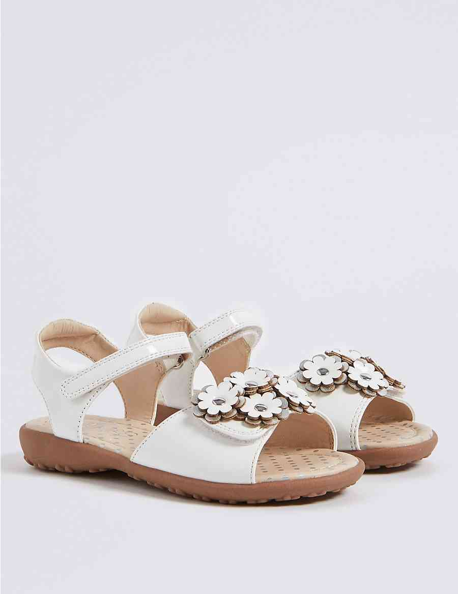22be03efe8981f Kids  Floral Sandals (5 Small - 12 Small)