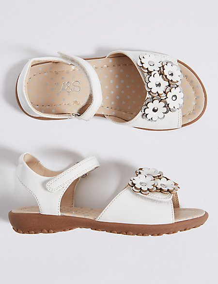 Kids' Floral Sandals (5 Small - 12 Small)