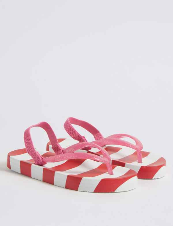 dc1a17a9c Kids  Striped Flip-flops (5 Small - 12 Small)