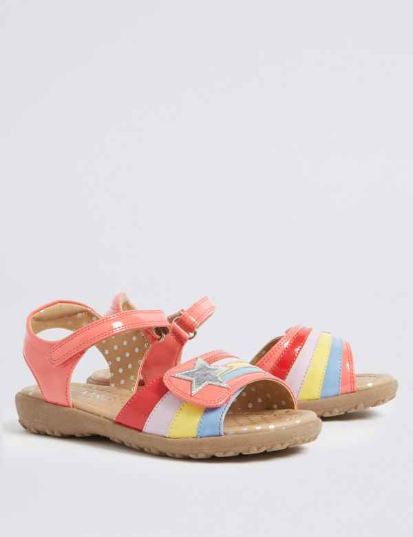 9bba3b978587 Kids  Rainbow Sandals (5 Small - 12 Small)