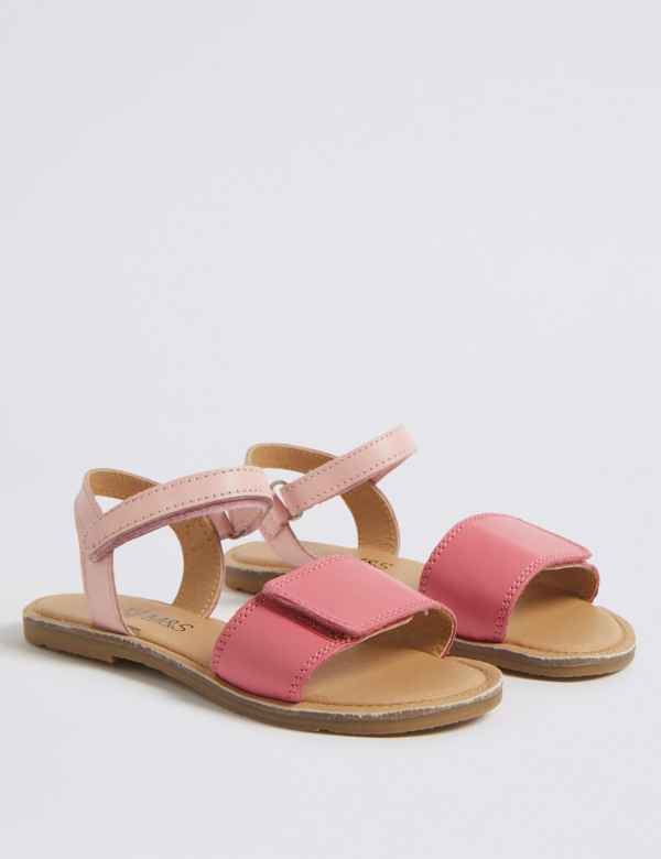 1a4b1c0b4f07 Kids  Leather Sandals (5 Small - 12 Small)