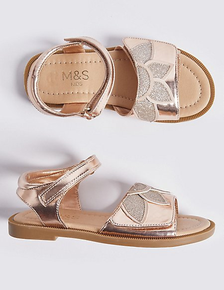 Kids' Sparkle Sandals (5 Small - 12 Small)