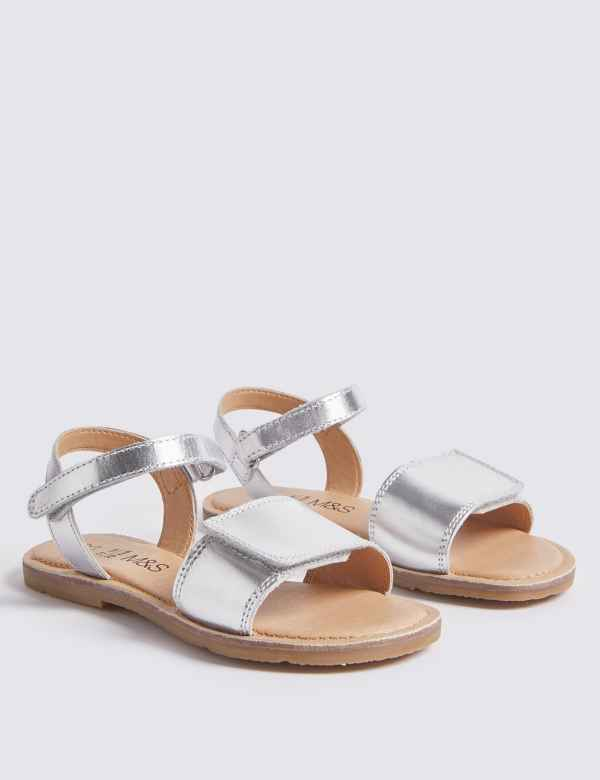 f4e0f717ee81 Kids  Leather Sandals (5 Small - 12 Small)