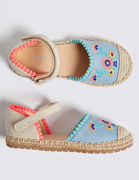 Kids' Espadrille Sandals (5 Small - 12 Small)