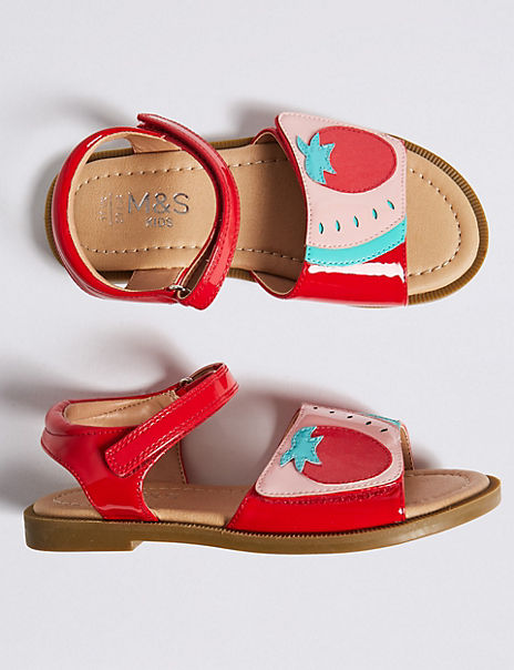 Kids' Strawberry Sandals (5 Small - 12 Small)
