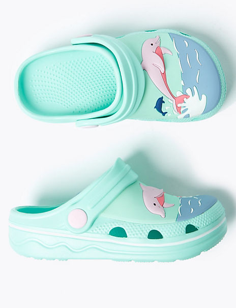 Kids' Dolphin Clogs (5 Small - 12 Small)