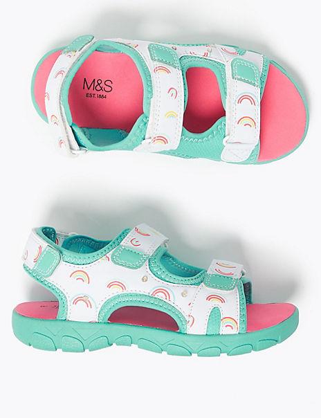 Kids' Rainbow Trekker Sandals (5 Small - 12 Small)