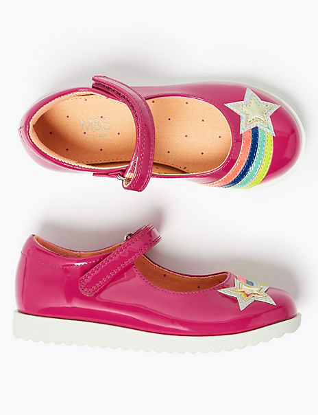 Kids' Rainbow Mary Jane Shoes (5 Small - 12 Small)