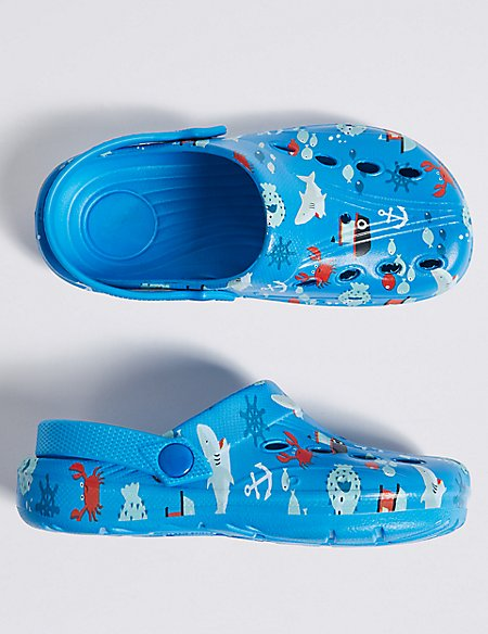 Kids' Printed Clogs (5 Small - 12 Small)