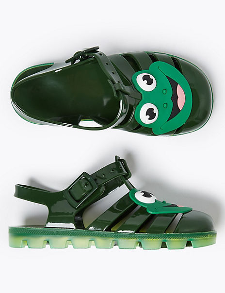 Frog Jelly Sandals (5 Small - 12 Small)