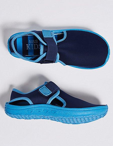 Kids' Riptape Aqua Shoes (13 Small - 7 Large)