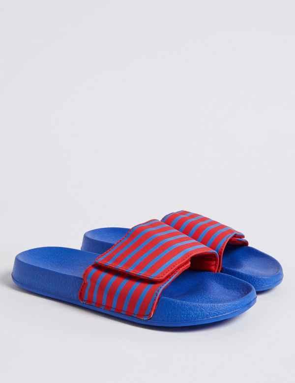 f2d35942b9b1 Kids  Slide Sandals (13 Small - 7 Large)
