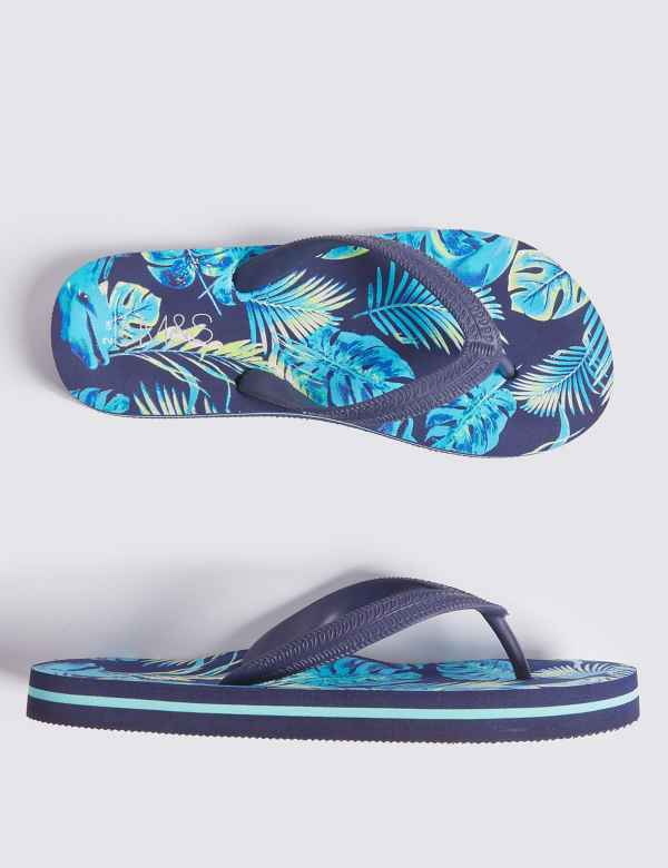 3e9ec9831731 Kids  Hibiscus Print Flip-flops (13 Small - 7 Large)