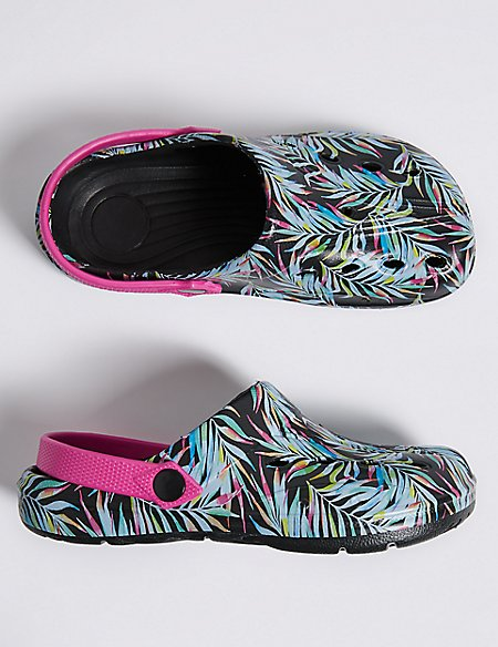 Kids' Holiday Printed Clogs (13 Small - 6 Large)