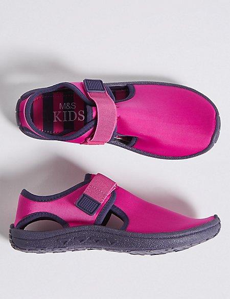 Kids' Riptape Aqua Shoes (13 Small - 6 Large)